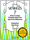 Vowels? Short or Long? Rules that teach the Difference