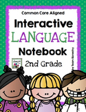 Interactive Language Notebook for Second Grade (Common Cor