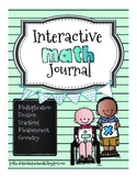 Interactive Math Journal for Third Grade