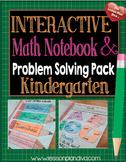 Interactive Math Notebook CCSS kindergarten