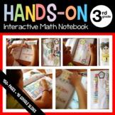 Interactive Math Notebook Hands-On Third Grade Common Core