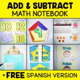 Common Core Interactive Math Notebook - Add & Subtract (En