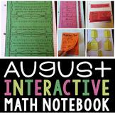 Interactive Math Notebook for August (Second Grade)