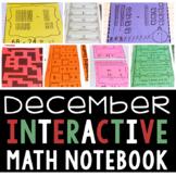 Interactive Math Notebook for December (Second Grade)
