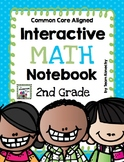 Interactive Math Notebook for Second Grade (Common Core Aligned)