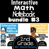 Interactive Math Notebooks Bundle #3 (Addition and Subtraction)