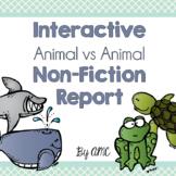 Interactive Non-Fiction Report: Animal vs Animal