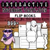 Interactive Notebook Templates 300+ Flip Flap Books