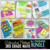 Interactive Notebook: ALL 3RD GRADE MATH STANDARDS MEGA-BUNDLE