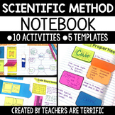 Interactive Notebook Activities featuring the Scientific Method