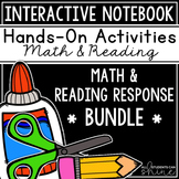 Interactive Notebook BUNDLE - Math & Reading Journals