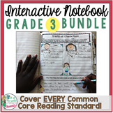 Interactive Notebook Bundle: 3rd Grade {Cover ALL CCSS RL