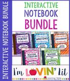 Interactive Notebook Bundle of 5 ~ Bundle Palooza @ Lovin' Lit!