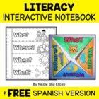 FREE SAMPLE - Interactive Literacy Notebook Activities - E