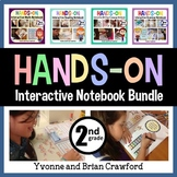 Interactive Notebook Hands-On Second Grade Common Core Bundle
