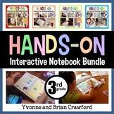 Interactive Notebook Third Grade Common Core Bundle