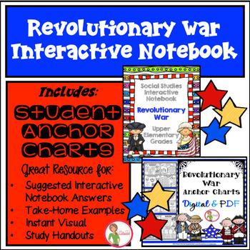 Interactive Notebook / Journal - REVOLUTIONARY WAR - Social Studies (Gr. 3-5)