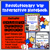 Interactive Notebook / Journal - REVOLUTIONARY WAR - Socia