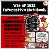 Interactive Notebook / Journal - THE WAR of 1812 - Social