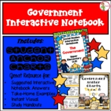 Interactive Notebook / Journal - The GOVERNMENT - Social S