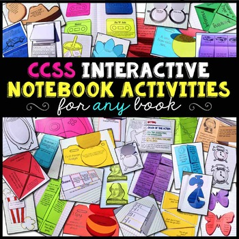 Interactive Notebook Reading Literature Bundle for Any Nov