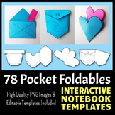 Interactive Notebook Templates - Easy to Cut Pocket Pack -