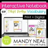 Interactive Notebook for Test Prep Vocabulary