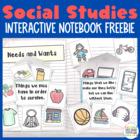 Interactive Notebook: Social Studies K-2 {Sampler}