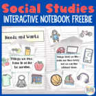 Interactive Notebook: Social Studies K-2 {Sampler}