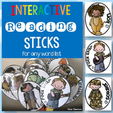 Interactive Reading Sticks for any Word List