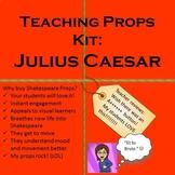Interactive Shakespeare: Julius Caesar Teaching Props Kit