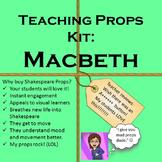 Interactive Shakespeare: Macbeth Teaching Props Kit