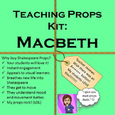 Interactive Shakespeare: Macbeth Teaching Props Kit