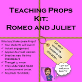 Interactive Shakespeare: Romeo and Juliet Teaching Props Kit