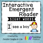 Interactive Emergent Reader - I see a dog