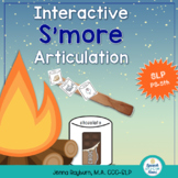 Interactive S'more Articulation Activity: Hands on Speech Therapy