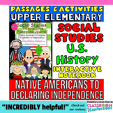 Interactive Social Studies Journal for UPPER ELEMENTARY