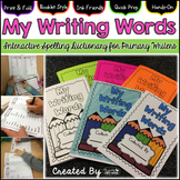 """Interactive Spelling Dictionary for Primary Writers ~ """"My"""