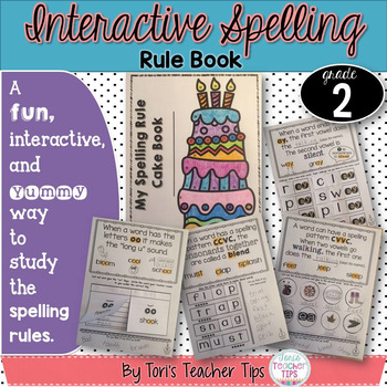 Interactive Spelling Rule Book for the Year!