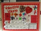 Interactive Valentine Volume Bulletin Board
