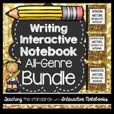 Interactive Writing Notebook: All Genre Bundle
