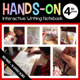 Interactive Writing and Grammar Notebook Fourth Grade Common Core
