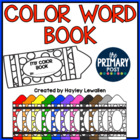 Color Words Emergent Reader {Interactive!}