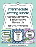 Common Core Writing Bundle #1 ~ Intermediate