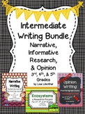 Common Core Writing Bundle #2 ~ Intermediate
