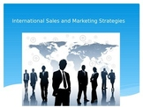 International Sales and Marketing Strategies