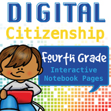 Internet Safety Interactive Notebook Pages- 4th Grade