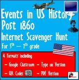 Internet Scavenger Hunt - Fifth Grade & Up US - Important