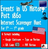 Internet Scavenger Hunt - Fifth Grade & Up US - Important