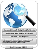 Internet Search Activities Reproducible Workbook - Classroom Use